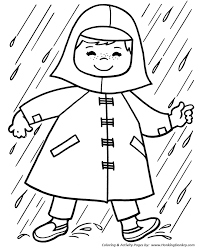 Spring Coloring Pages Kids Spring Showers Coloring Page Sheets Of