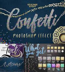 Confetti Brush Photoshop Confetti Effect For Photoshop Free Download
