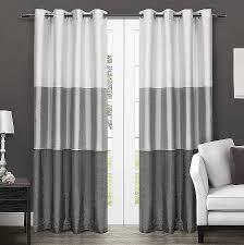 rv front window curtains elegant exclusive home curtains cau striped faux silk