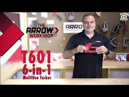 How To Use the Arrow <b>6</b>-in-<b>1 Heavy</b> Duty Staple Nail Gun | Toolstation