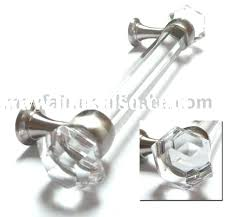 black glass cabinet pulls. Glass Drawer Handles Pulls For Dresser Clear Crystal Octagon Cabinet Knobs 6 And 3 Black O