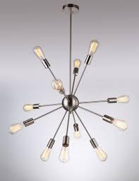 deking lights pendant light silver modern satellite style sputnik pendant light mini sputnik pendant light