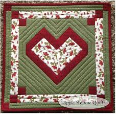 141 best APPLE AVENUE QUILTS images on Pinterest | Apple, Apples ... & Apple Avenue Quilts: Free 2012 Block of the Month.A really pretty heart quilt  block! Adamdwight.com