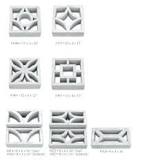 decorative block wall concrete screen block decorative concrete block walls