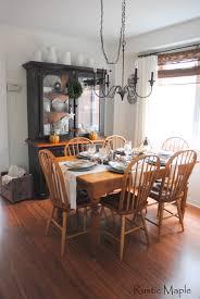 rustic hutch dining room: neutral fall dining room tour bbdiningbroombfallbhutchbtablebwhitebwoodbblackbironstone neutral fall dining room tour