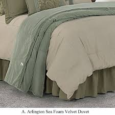 arlington bedding collection transitional bedding set velvet duvet