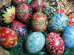 Easter Eggs Decoration Design