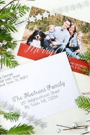 How To Address A Christmas Card Address Christmas Cards Using Your Cricut Explore Hey