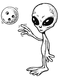Small Picture 30 Alien Coloring Pages ColoringStar