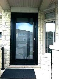 black front doors black front door glass exterior doors with entry sidelights framed full black upvc black front doors