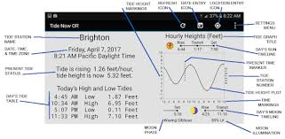 Apps Like Tide Now Or Oregon Tides Sun And Moon Times For