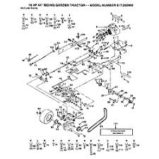 wiring diagram craftsman tractor schematics and wiring diagrams craftsman lawn tractor parts model 917255960 sears partsdirect