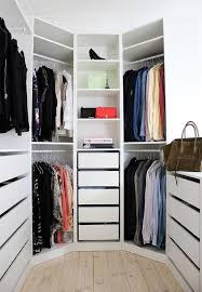 ikea closet systems with doors. Delighful Ikea Chic Closet Is Filled With An Ikea Pax System Boasting Modular Shelves And  Pull Out Drawers And Closet Systems With Doors L