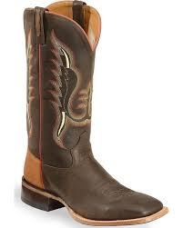 Light Brown Square Boots Old West Mens Light And Cowboy Boot Square Toe Bsm1852 9 5 Ee