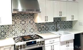 backsplash with white cabinets black and white ideas for white cabinets and granite grey tile floor