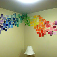 dorm room wall decor awesome our paint chip diy dorm wall decor