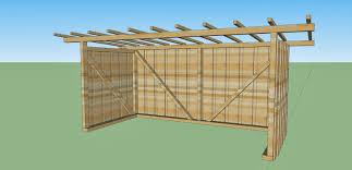 Holzhaus Wir Bauen Ein Haus Aus Holz Velounterstand