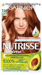 Permanent Red Hair Dye Hair Colour Garnier