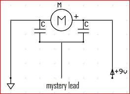 strange input dc motor help on its operation motor scematic jpg