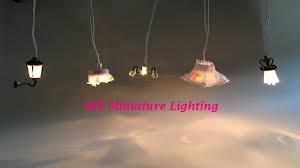 8 diy miniature dollhouse lighting miniatura de luminárias para casinha de boneca