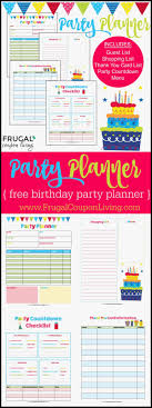 Birthday Party Planning Checklist Wonderfully 11 Free