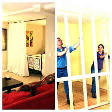 wall room divider sliding build n dividers tall how to a your own ro room divider