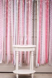 ribbon and lace backdrop diy photo booth ideas for your next shindig birthday photo