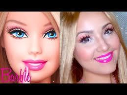 barbie makeup for