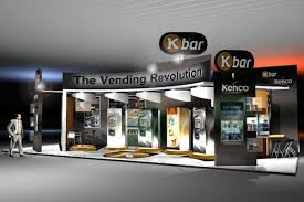 Apex Vending Machines Extraordinary Bespoke Exhibition Stand For Kraft Apex Event Management And