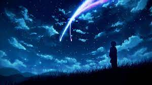 Anime Your Name. Mitsuha Miyamizu Kimi ...