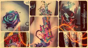 цветные тату фото варианты рисунков значение эскизы факты про
