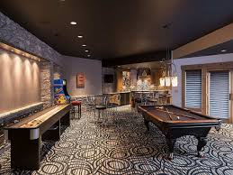 game room design ideas masculine game. Masculine Game Room With Modern Carpet And Pool Table : Nice Decorating Ideas For Design