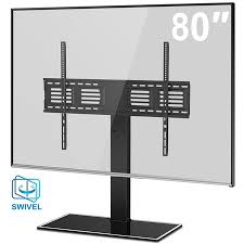 FITUEYES Universal TV Stand with Swivel Mount for 50 to 80 inch TT107003GB - Walmart.com