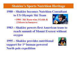 shaklee sports nutrition program herie