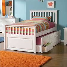 kids beds with storage for girls. Kids Beds: Mate\u0027s Storage Bed With 3 Drawer Trundle In White . Beds For Girls
