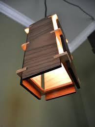 wood lighting. Wood Pendant Light Square Wooden Lamps Lighting Fittings
