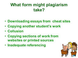 plagiarism ppt  3 what form might plagiarism take ing essays from cheat