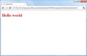 Artisteer- Automated Web Designer