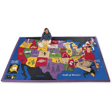 cpt1401 carpets for kids discover america us map area rug kids 53 04 to enlarge