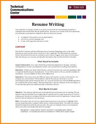 Different Resumes For Different Jobs Resume How To Write For Job Fairview With Different Experience 51