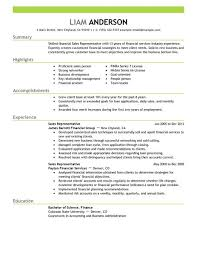 Sample Resume For Sales Position Musiccityspiritsandcocktail Com