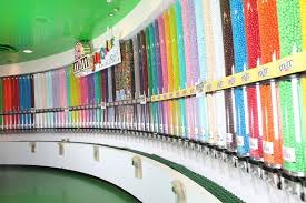 M Ms World Takes Candy Wall To Vegas