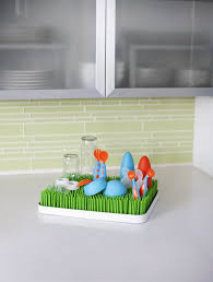 feeding boon bottle accessories boon lawn countertop drying rack green