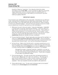 Resume Sentence Examples Simple Resume Objective Statements Airexpresscarrier Com