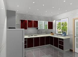 gray kitchen walls interior