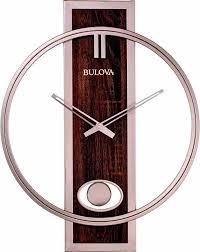 bulova c4117 phoenix modern wall clock