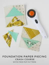 Paper Piecing Patterns Free Impressive Michael Ann Made Foundation Paper Piecing Tutorial With FREE