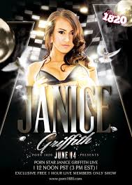 Janice Griffith Live on Saturday