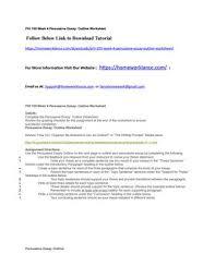Phi 105 Week 4 Persuasive Essay Outline Worksheet By Lauralott Issuu