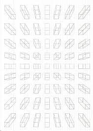 Blue Geometric Graph Paper Art Drawings Drawing Geometry